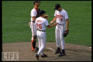 Background on the Buck Showalter - Johnny Oates relationship