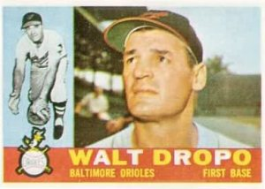 Former Oriole Walt Dropo dies; Played for Baltimore's first winning team