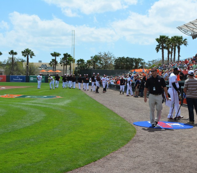 Orioles Spring Training Warm-Up