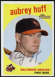 Aubrey Huff card