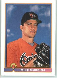 Mike Mussina Card