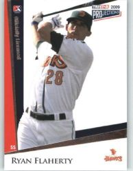 Ryan Flaherty baseball card