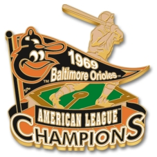 1969 Baltimore Orioles pin