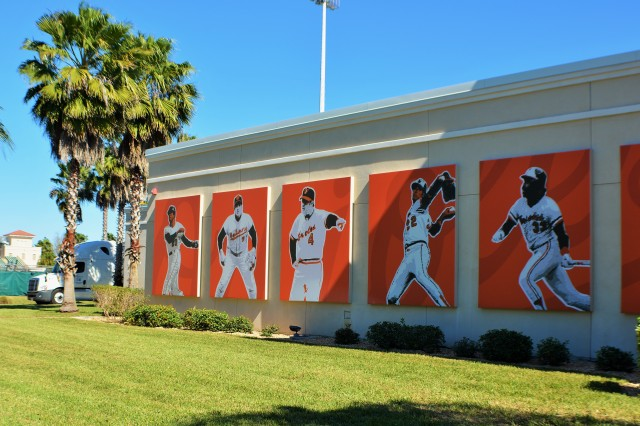 Baltimore Orioles Legends - Ed Smith Stadium.JPG