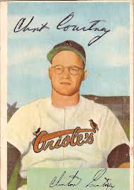 Clint Courtney Baltimore Orioles Card