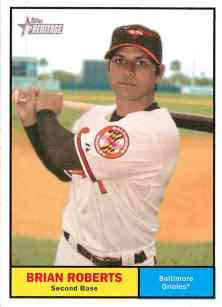 Brian Roberts Baltimore Orioles Card