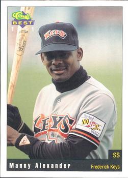 Manny Alexander Baseball Card