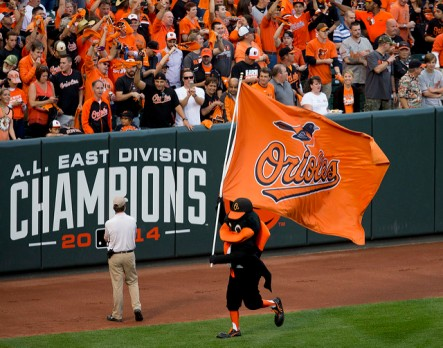 Baltimore Orioles, 2014 A.L. East Champions