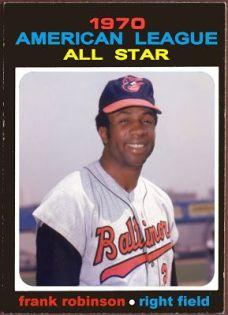 Frank Robinson, Baltimore Orioles 1970 Baseball Card