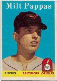 Milt Pappas, Baltimore Orioles