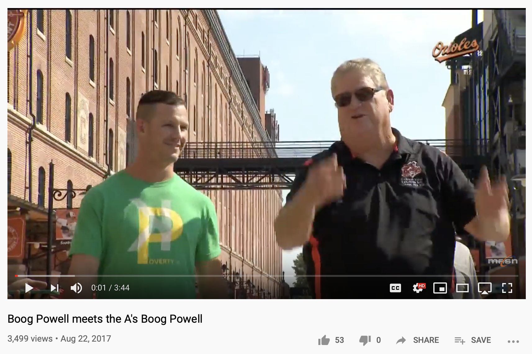 Boog Powell Meets Boog Powell